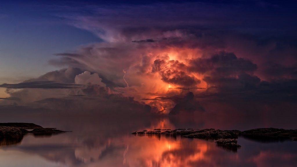 Tempo (paisagem de tempestade)