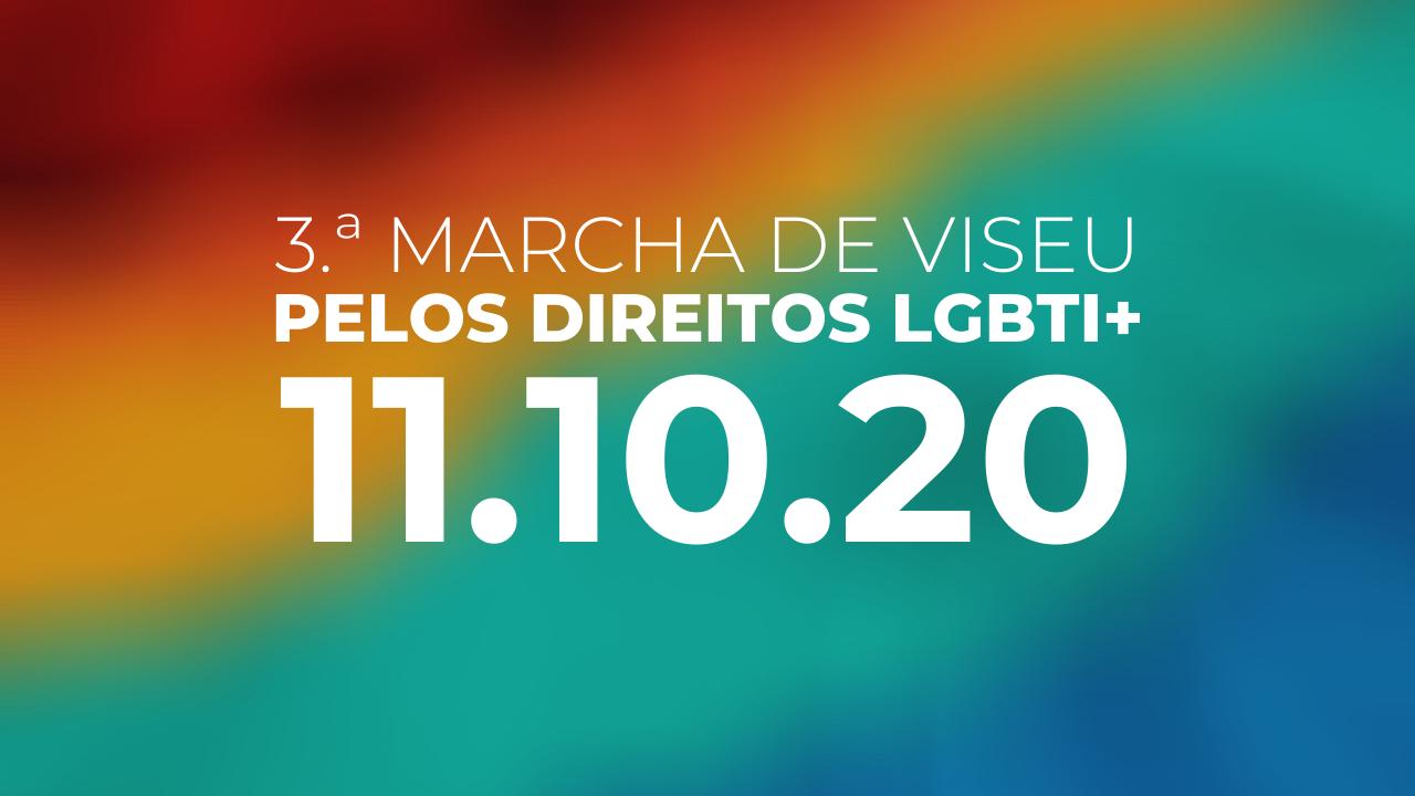 Mais de 60 pessoas já subscreveram o Manifesto que Convoca a 3.ª Marcha de Viseu pelos Direitos LGBTI+