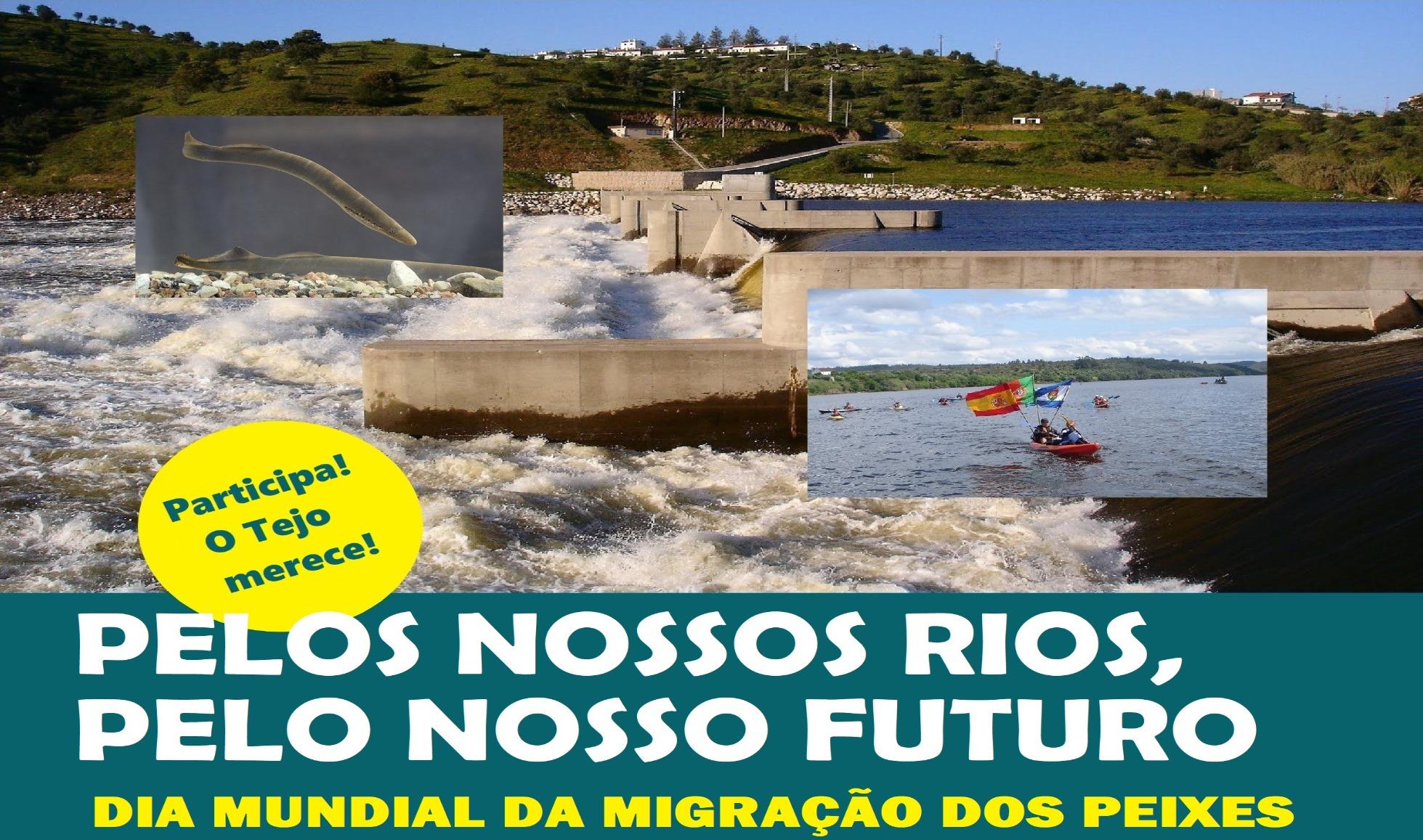 """Concentração """"Por Um rio Tejo Livre"""" a 24 de outubro"""