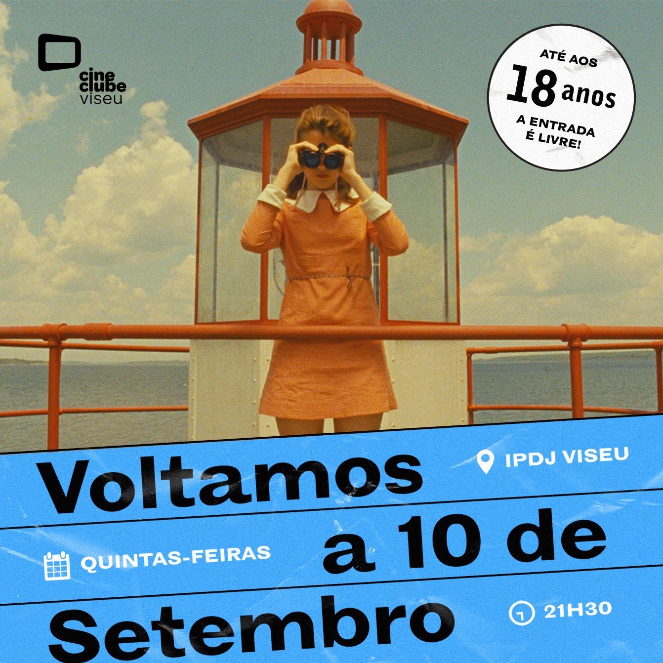 Cine Clube de Viseu regressa às sessões regulares