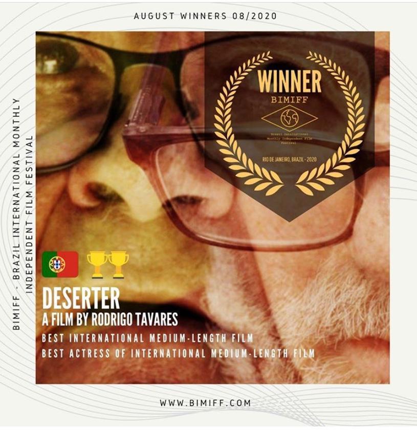 Curta-metragem realizada em Tabuaço foi premiada no Brasil