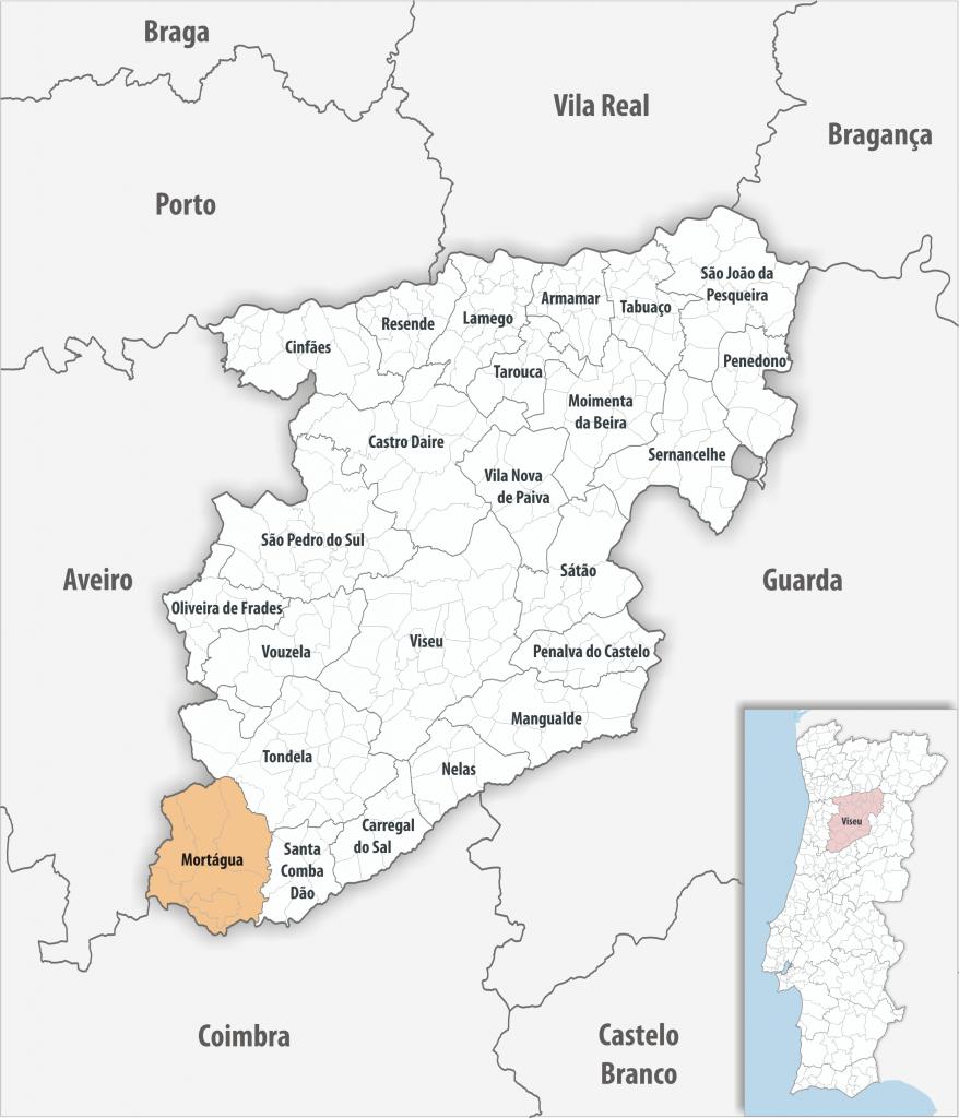 Mortágua - Mapa