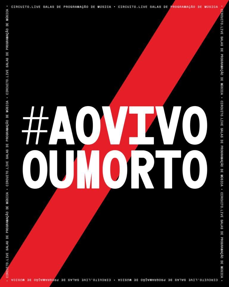 #AOVIVOOUMORTO: Protesto pela reabertura de salas e clubes de música ao vivo em Viseu