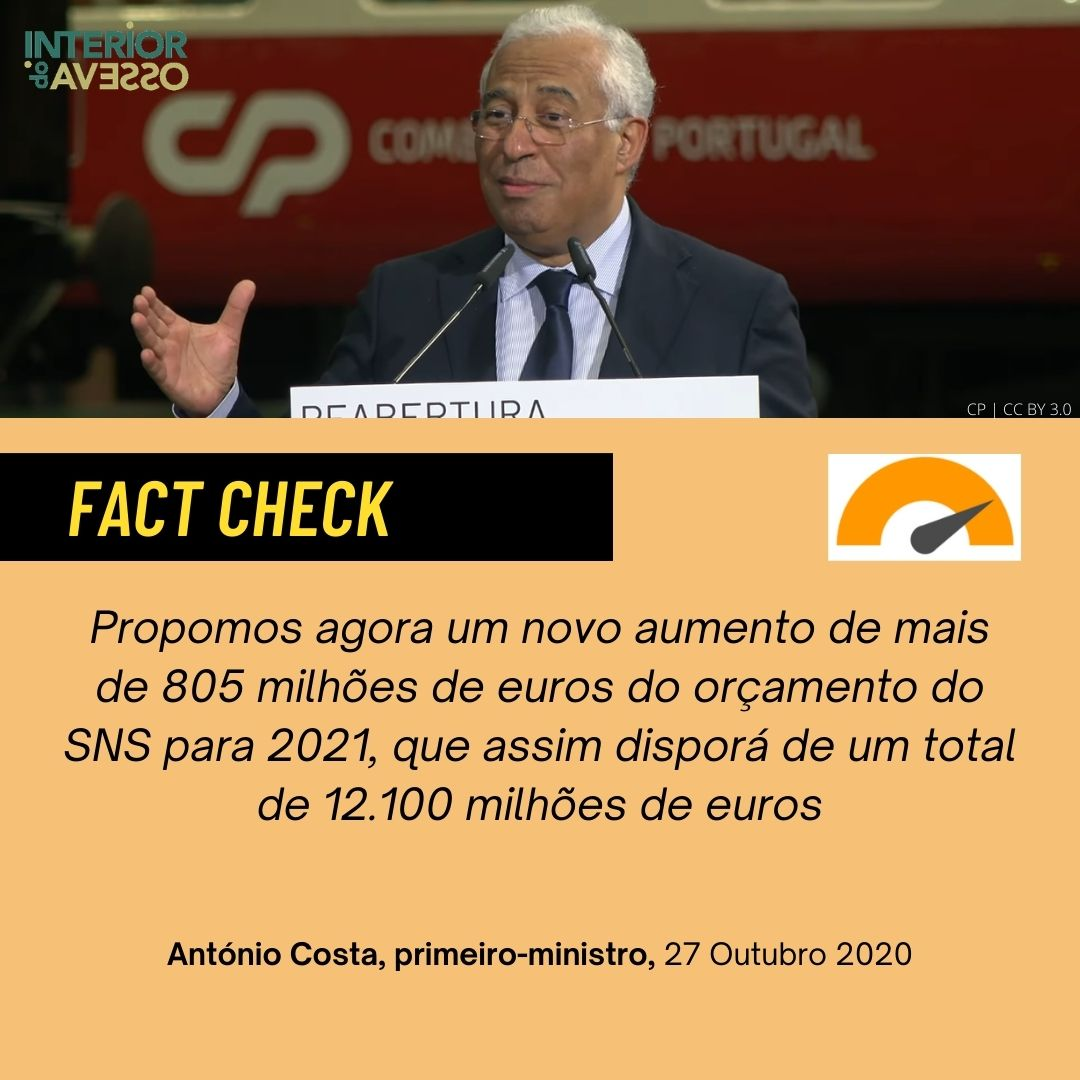 Fact Check: a verdade dos números sobre o Serviço Nacional de Saúde
