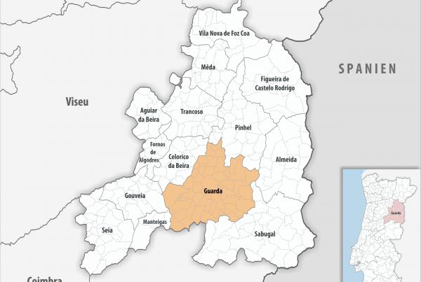 Guarda - Mapa