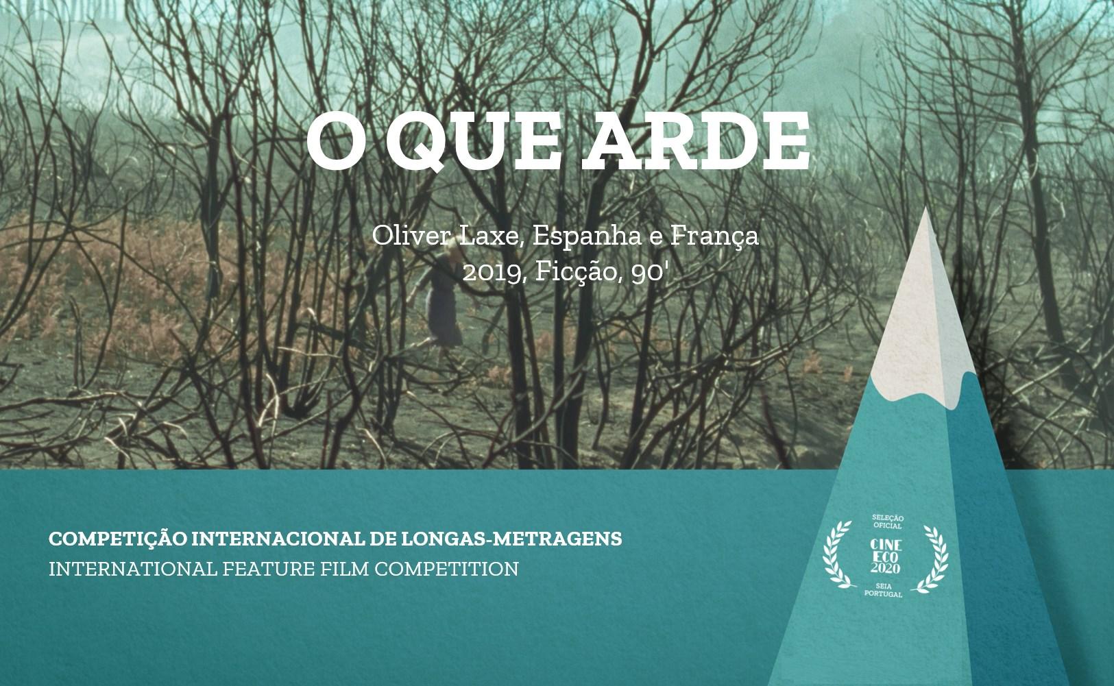 """""""O Que Arde"""" é o vencedor do Festival CineEco 2020"""