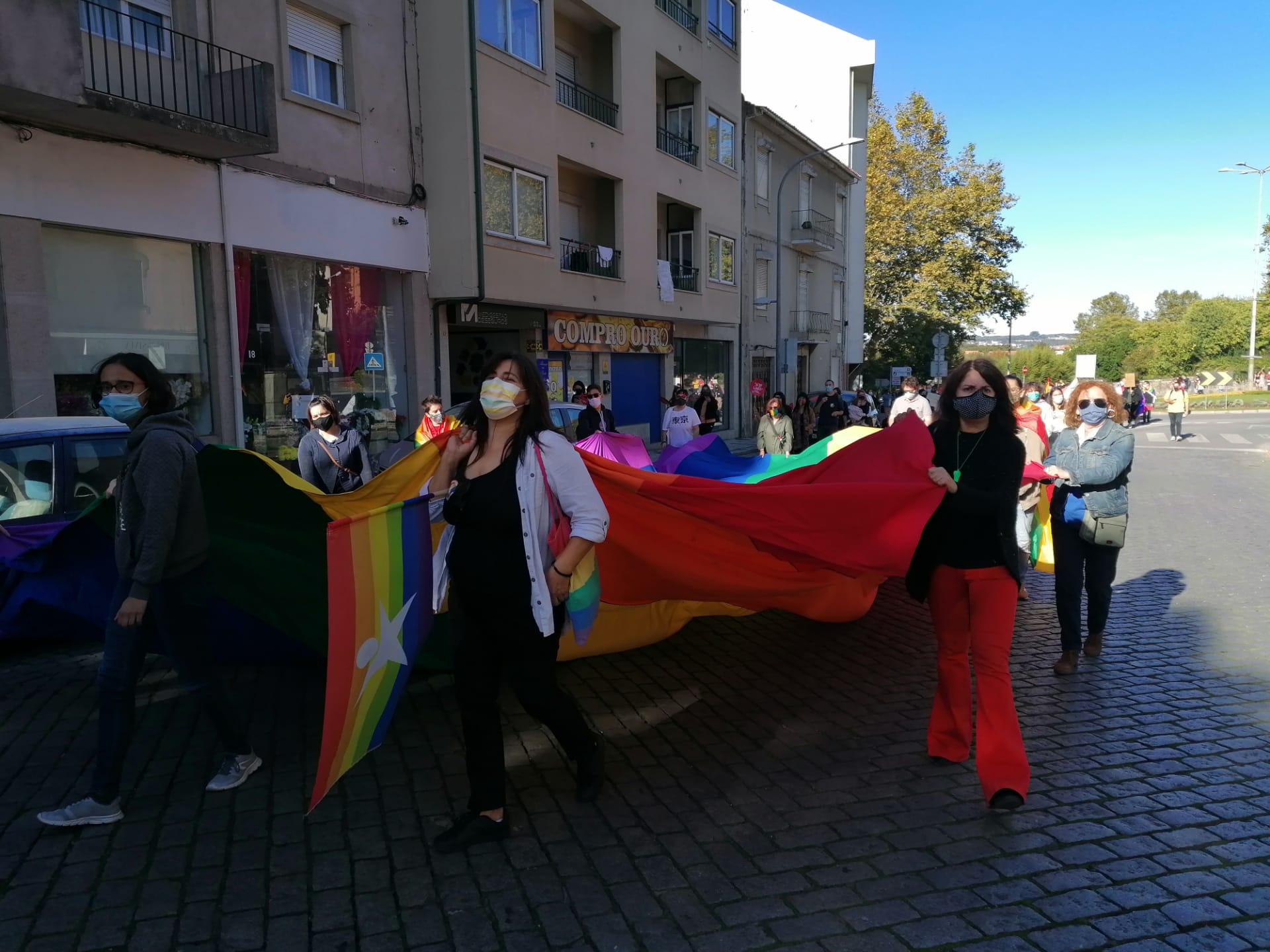 1.ª Marcha LGBTI+ após a crise pandémica em Viseu