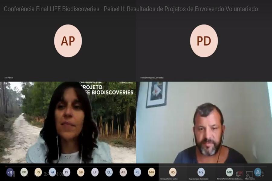 Palombar participa na Conferência Final do projeto LIFE Biodiscoveries