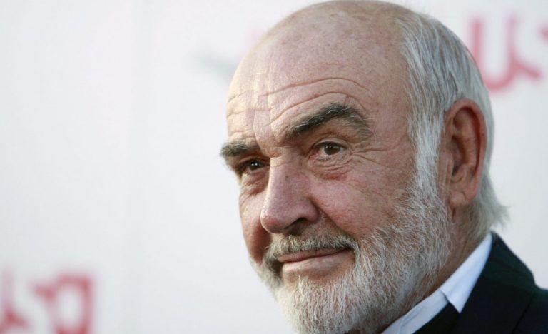 Morreu o ator Sean Connery aos 90 anos