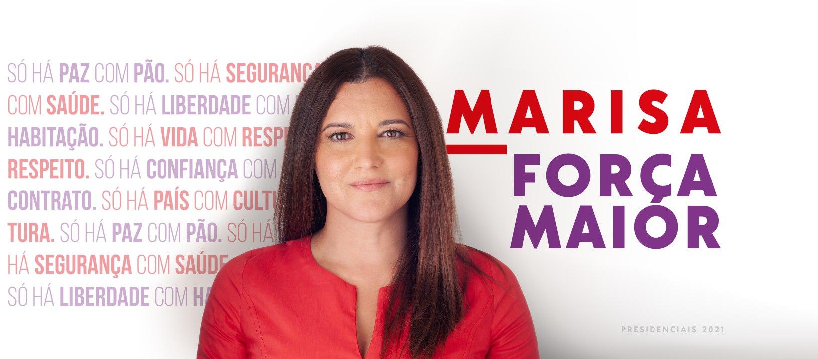 Marisa 2021: Candidata à Presidência da República vai reunir com a CVI em Vila Real