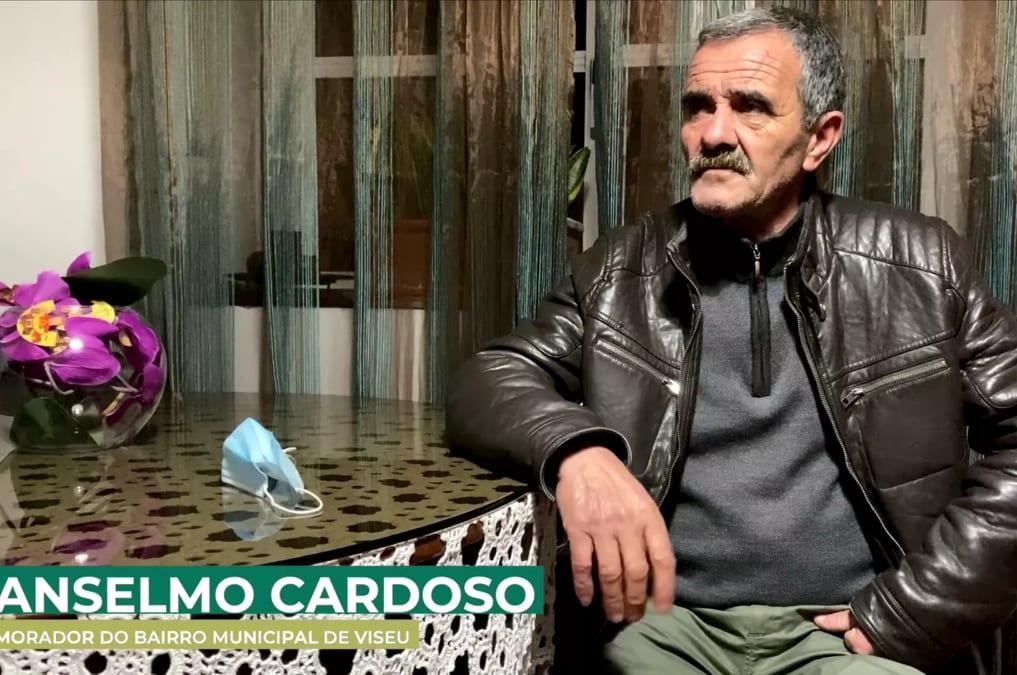 A história de Anselmo Cardoso, morador do Bairro Municipal de Viseu