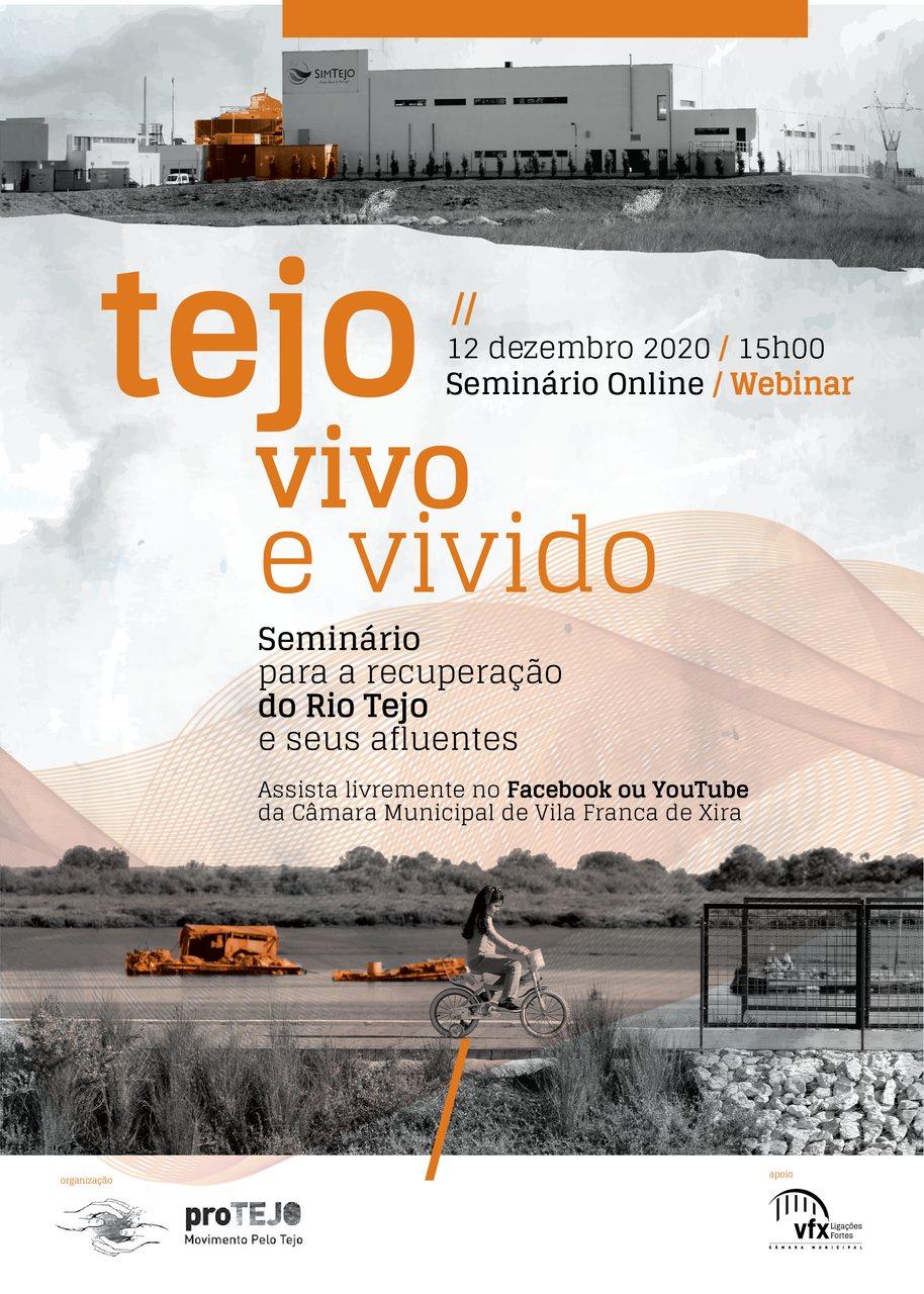 """""""TEJO VIVO E VIVIDO – SEMINÁRIO PARA A RECUPERAÇÃO DO RIO TEJO E SEUS AFLUENTES"""""""