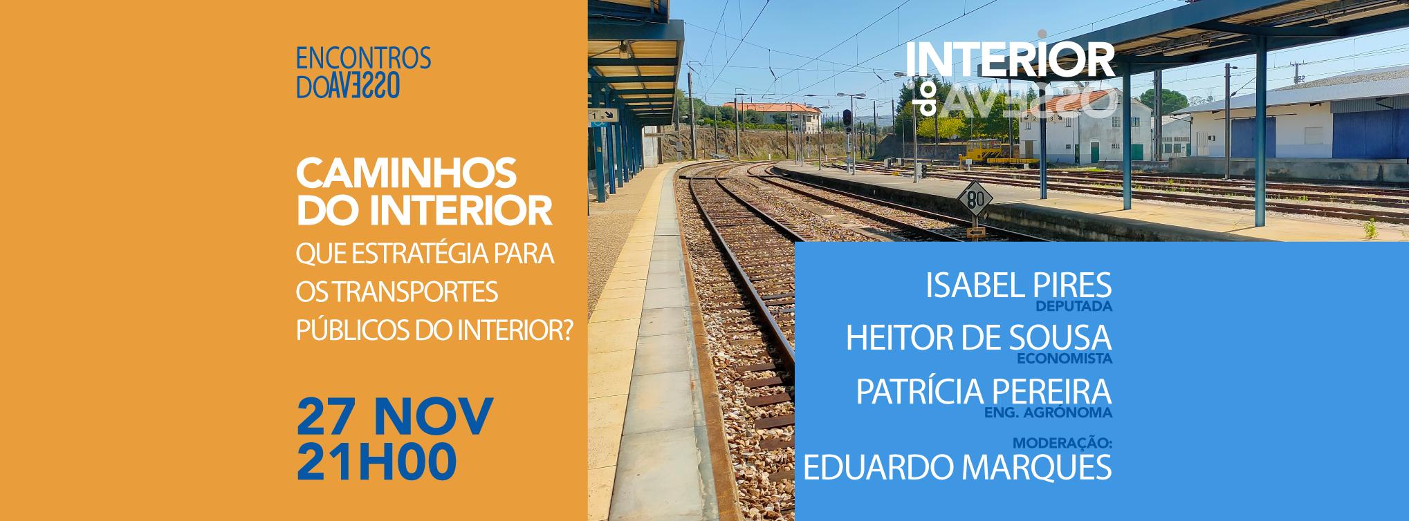 Caminhos do Interior – Que estratégia para os Transportes Públicos no Interior?