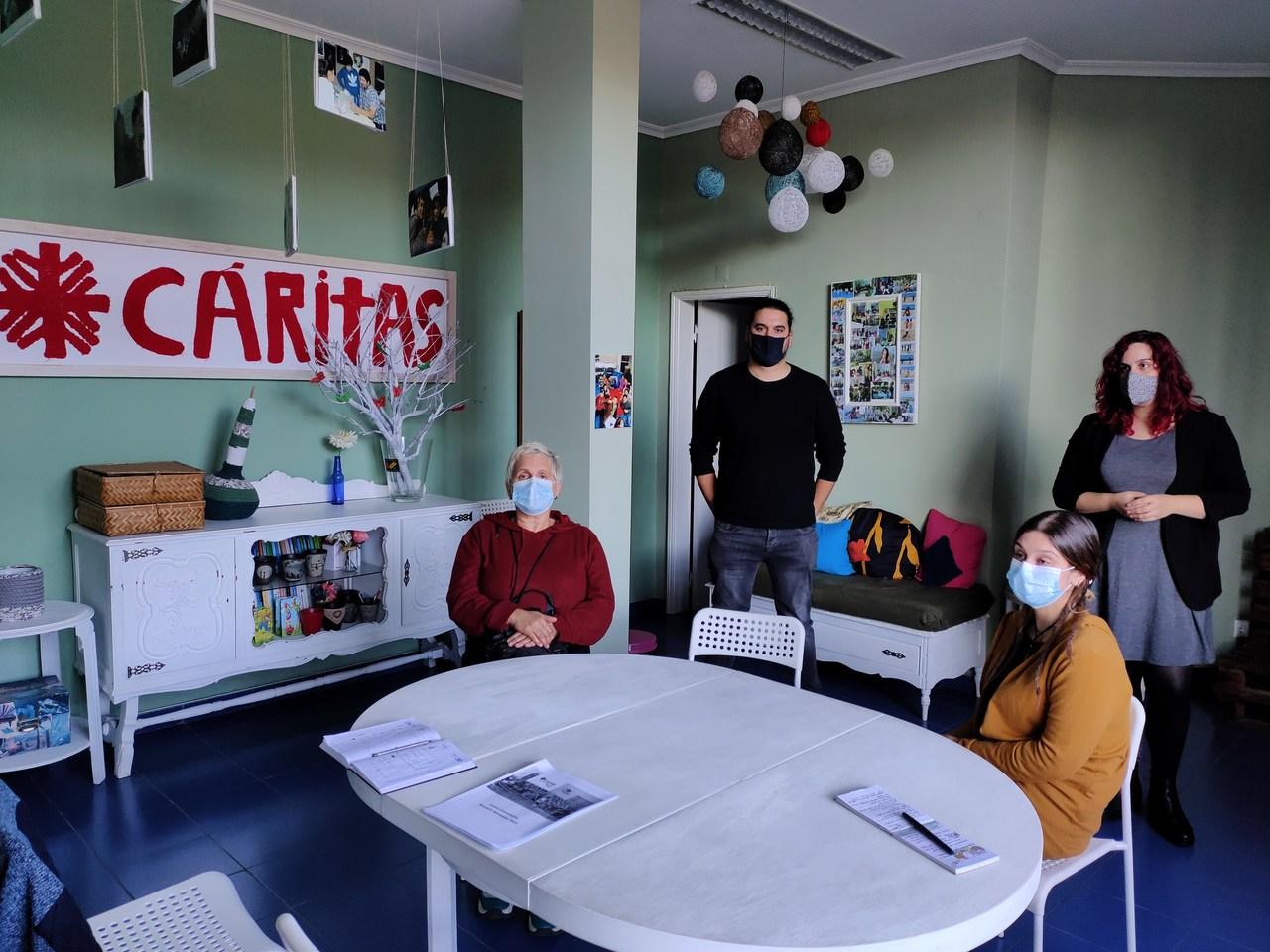 Bloco Viseu reuniu com Cáritas para perceber as dificuldades de cariz social na atual pandemia