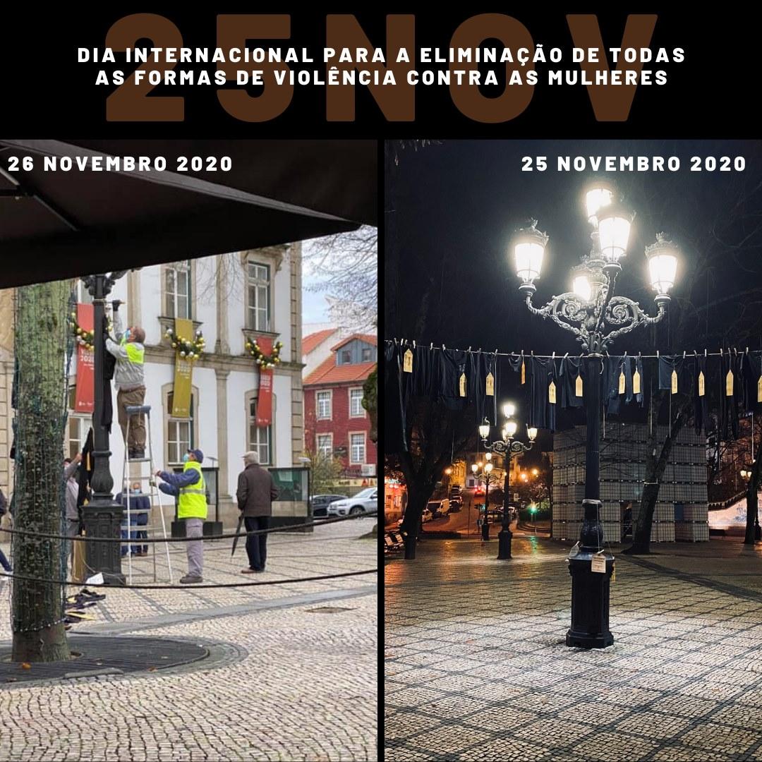 Câmara Municipal de Viseu retira memorial pelas mulheres assassinadas