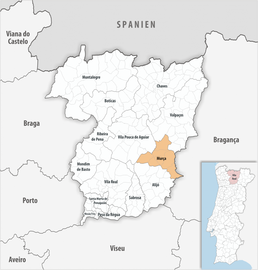 Murça - Mapa