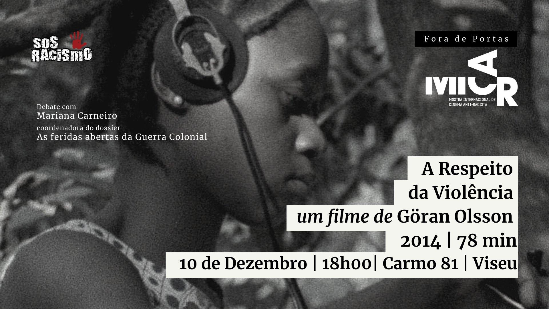 """Primeira """"MICAR – Mostra Internacional Anti-Racista fora de portas"""" em Viseu"""