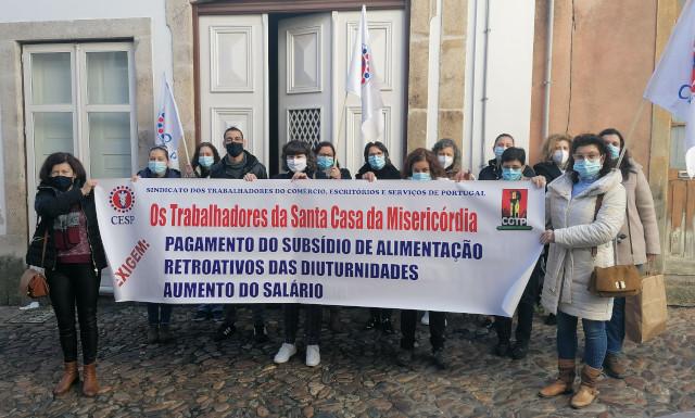 Trabalhadoras da Santa Casa de Mirandela não estão a receber subsídio de alimentação