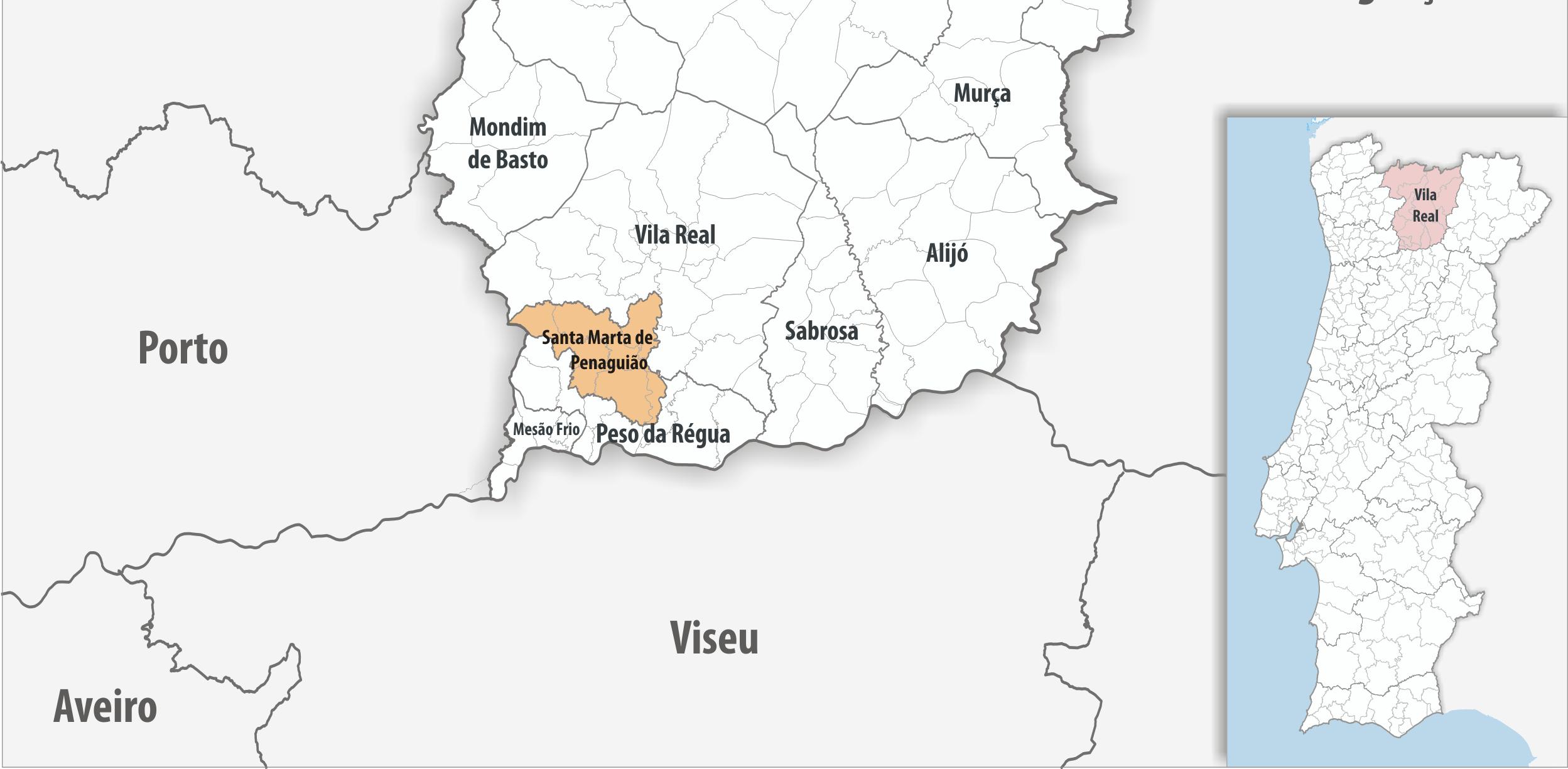 Radiografias Concelhias: Santa Marta de Penaguião