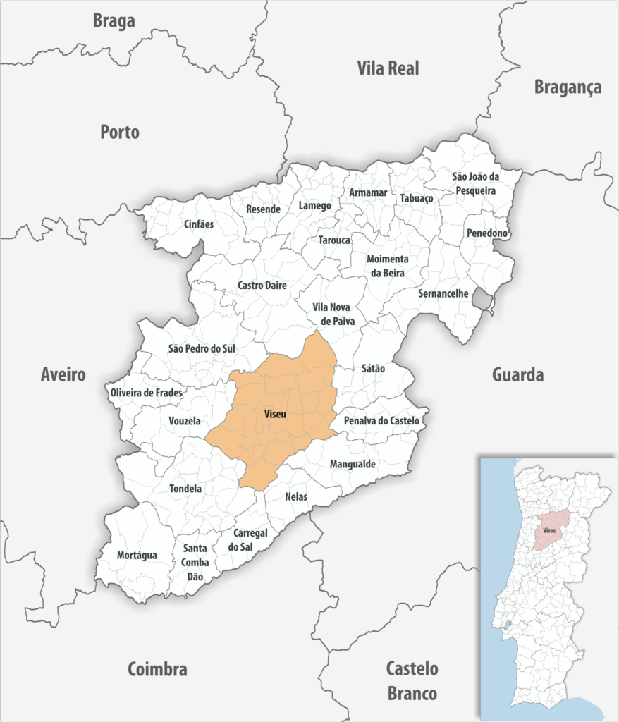 Viseu - Mapa