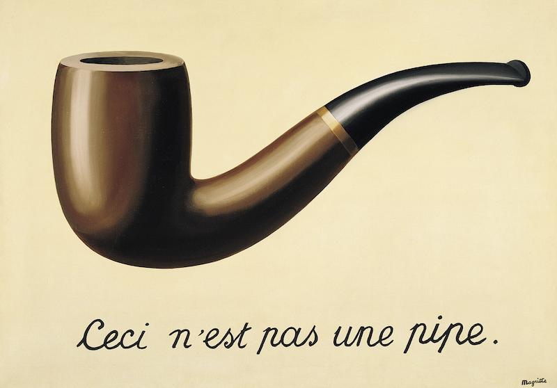 Ceci n'est pas une pipe*