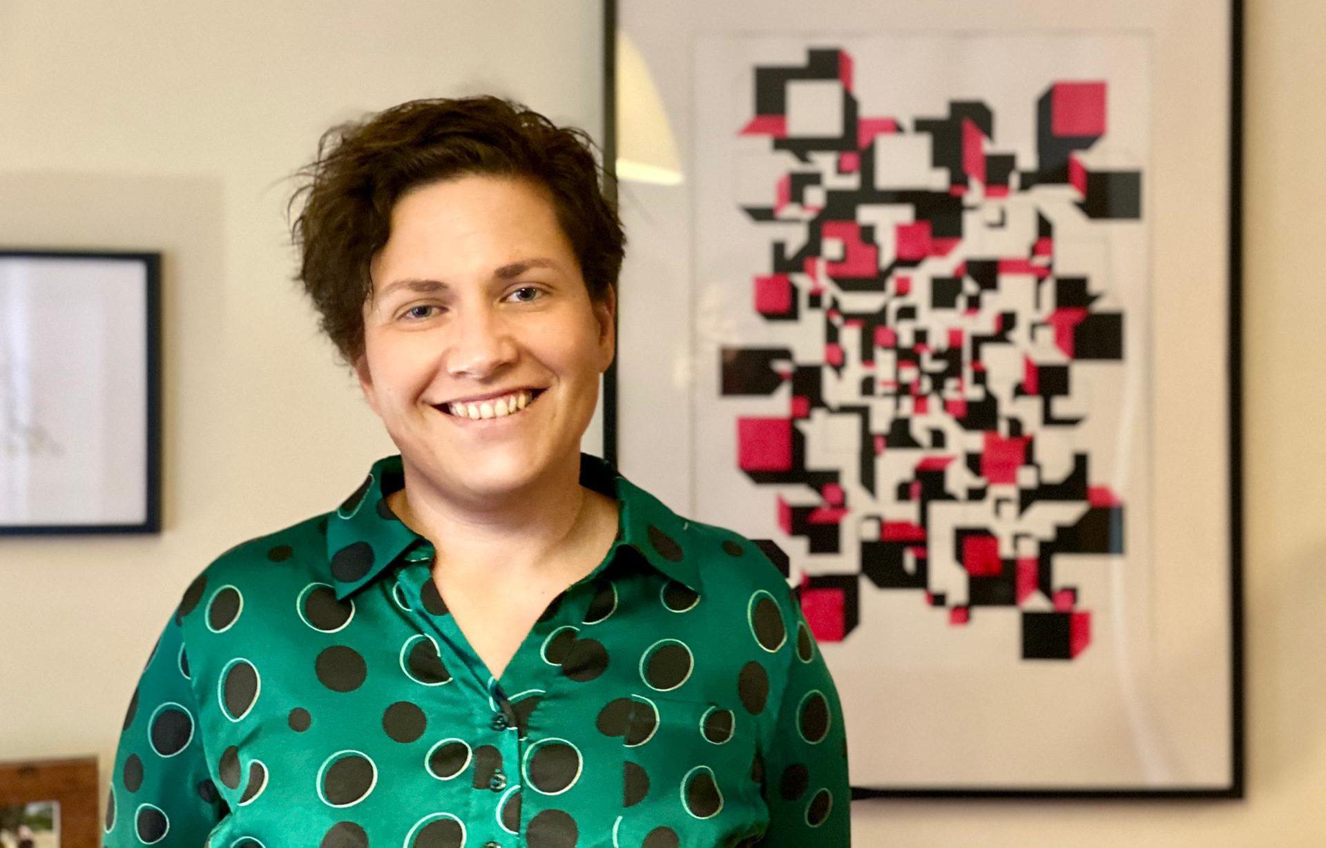 """Entrevista a Fátima Teles: """"A arte para mim passa por aí, é uma forma de comunicar"""""""