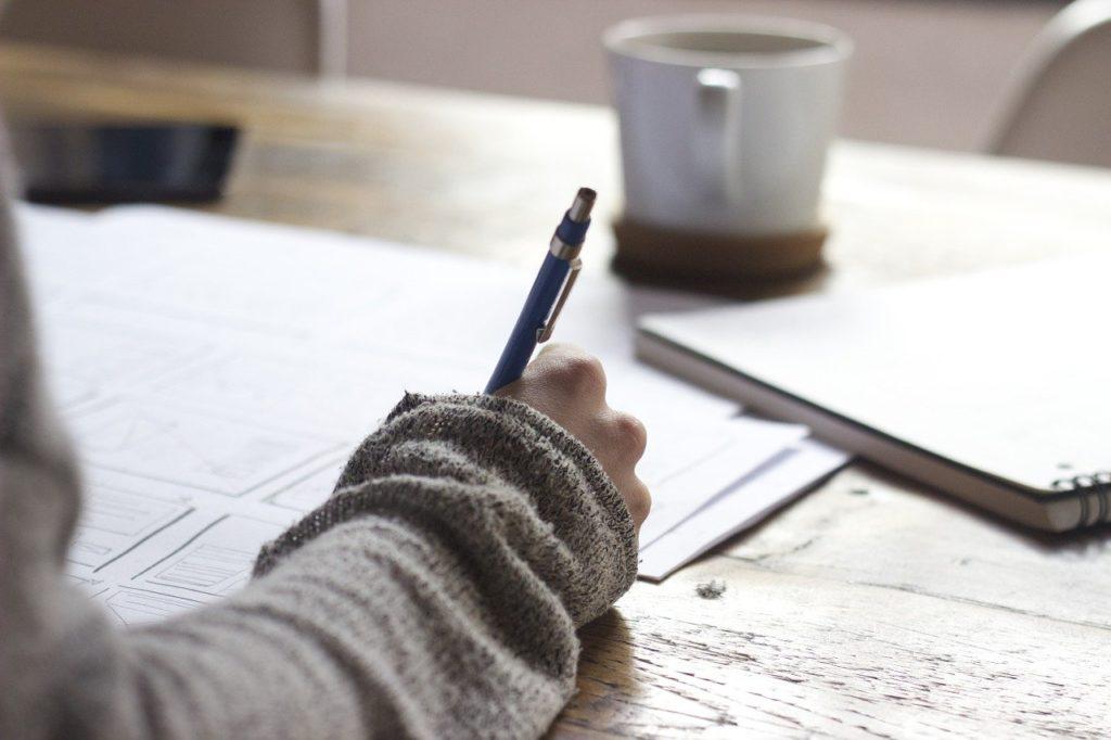 Trabalho - Escrever