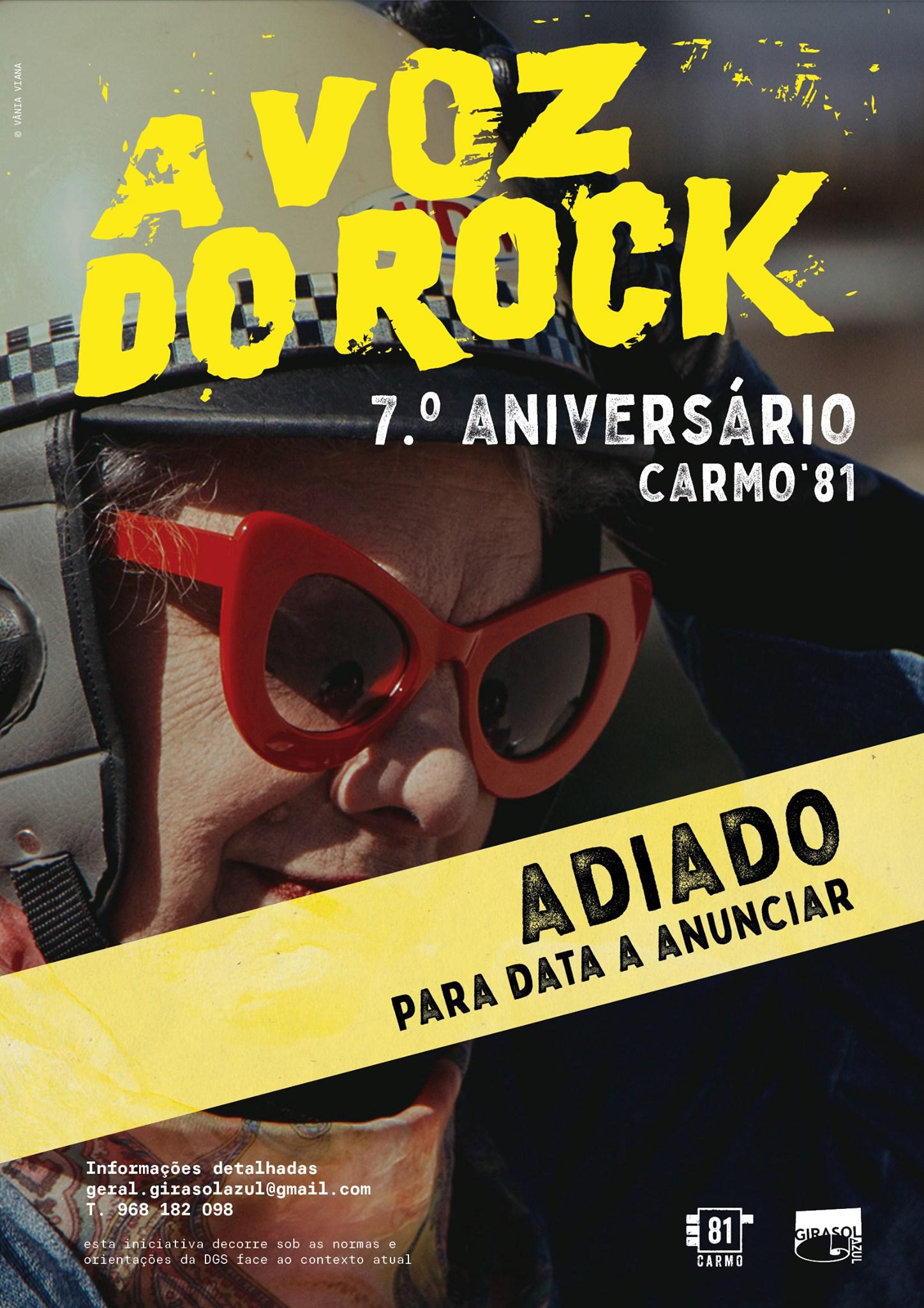 Concertos de aniversário dos A Voz do Rock no Carmo 81 foram adiados