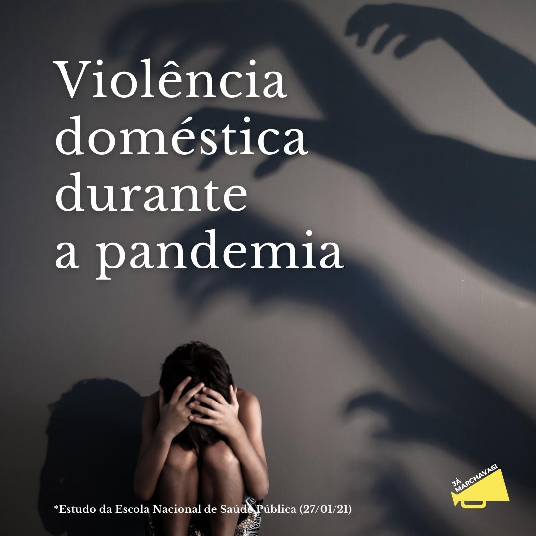 Violência doméstica durante a pandemia