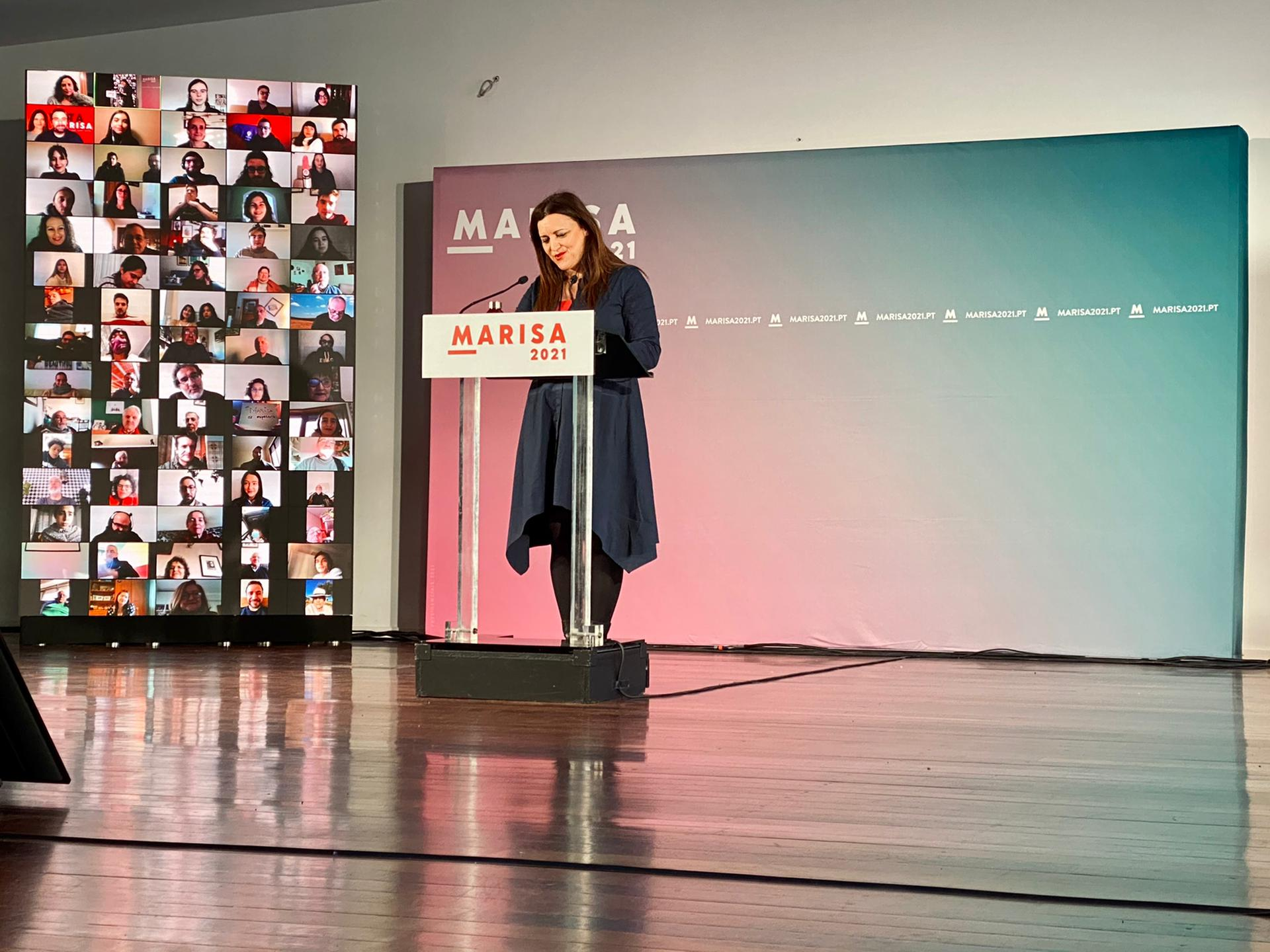 Interior foi tema presente no comício virtual de Marisa Matias desde Viseu