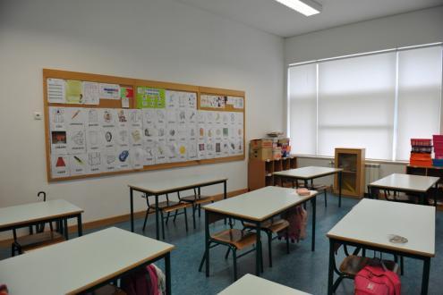 sala de aula / escola