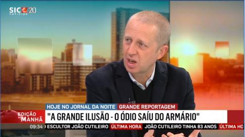 Jornalistas ameaçados por dirigentes do Chega antes da estreia da reportagem