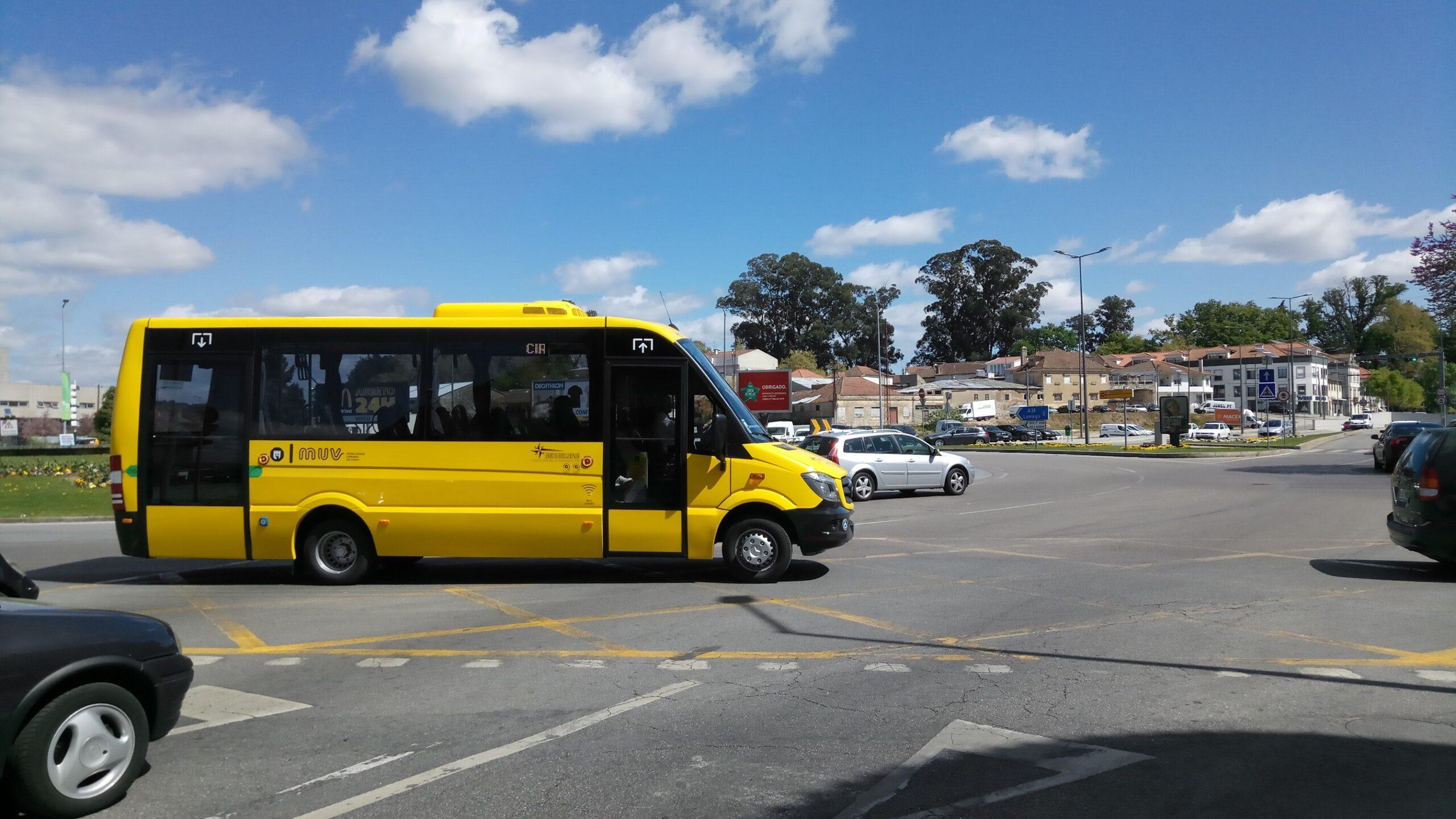 Motoristas do sistema de Mobilidade Urbana de Viseu ainda não receberam salário de janeiro