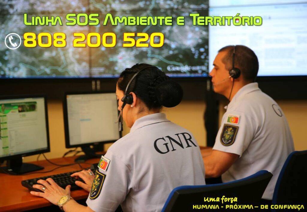 Linha SOS Ambiente | SEPNA | GNR