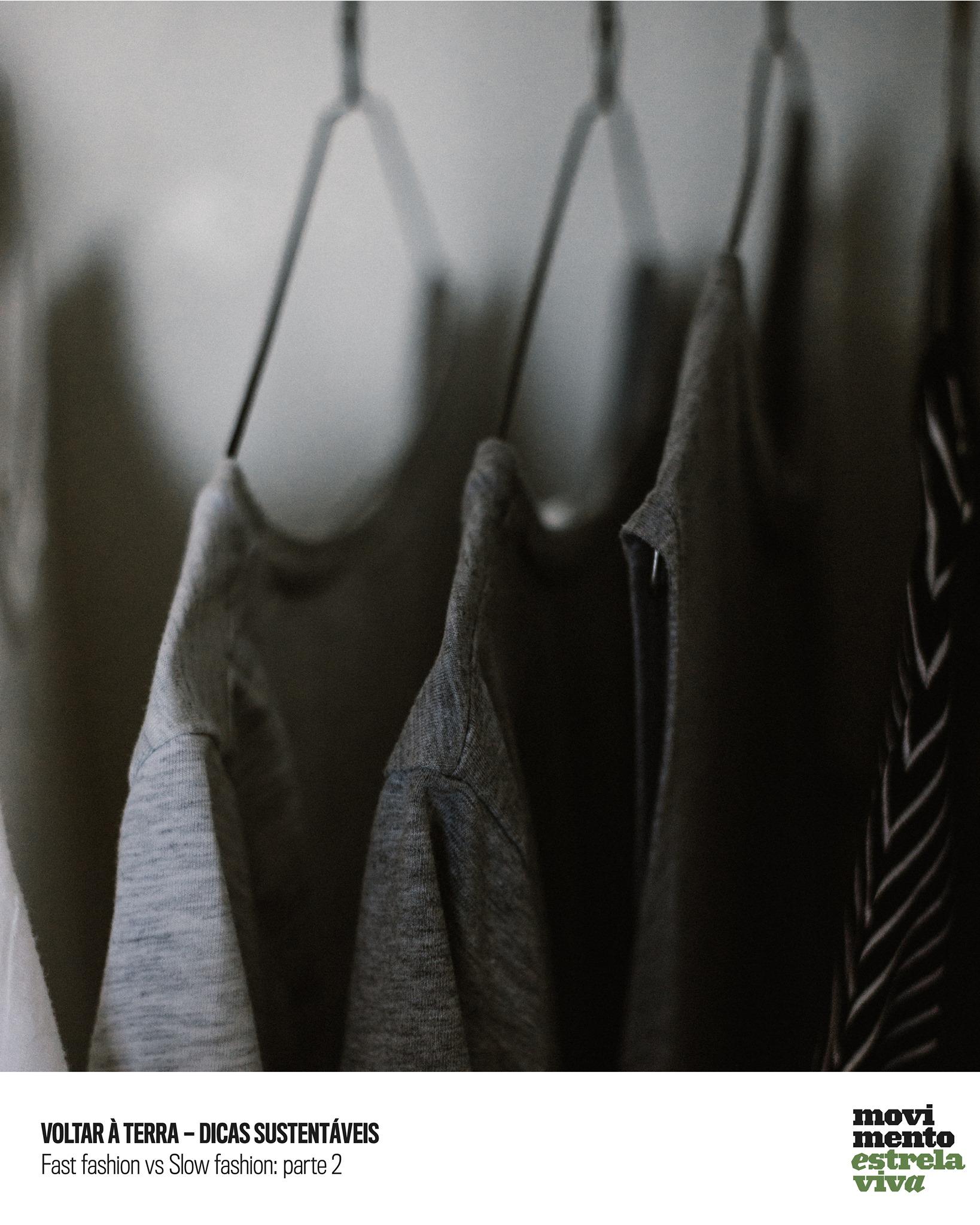 Dicas Sustentáveis – Fast fashion vs slow fashion 2
