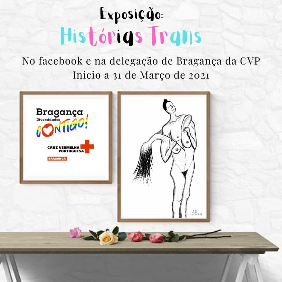 Exposição trans em Bragança inaugurada no Dia da Visibilidade Trans