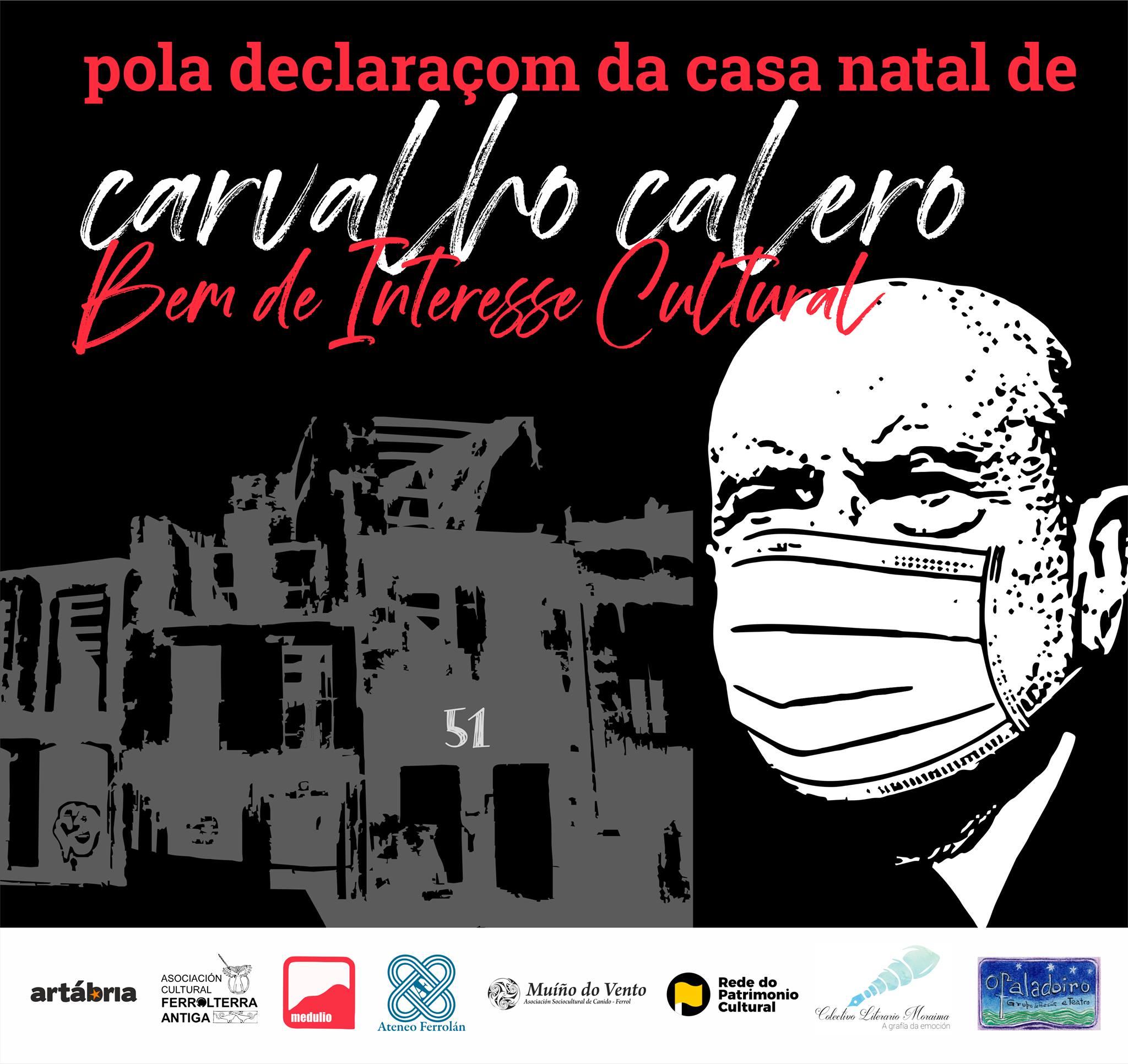 Solicitude de declaração BIC para a casa natal de Carvalho Calero