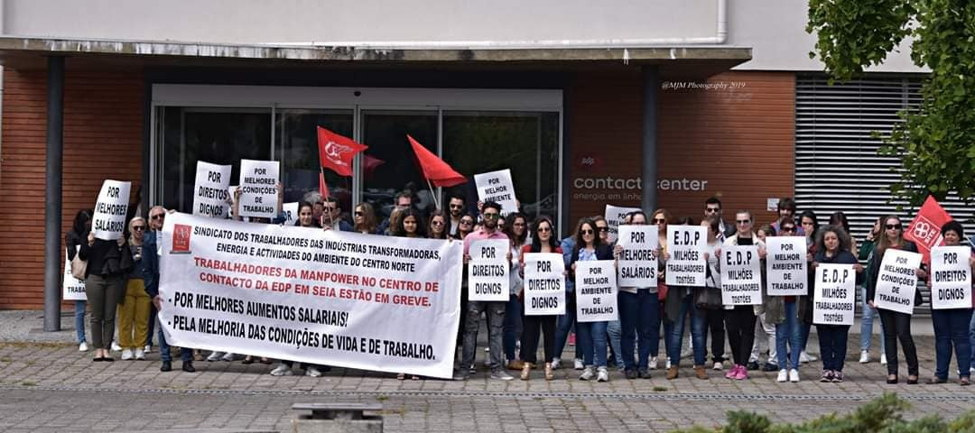 Manpower não cumpre obrigações legais para garantir serviços mínimos do call center da EDP de Seia