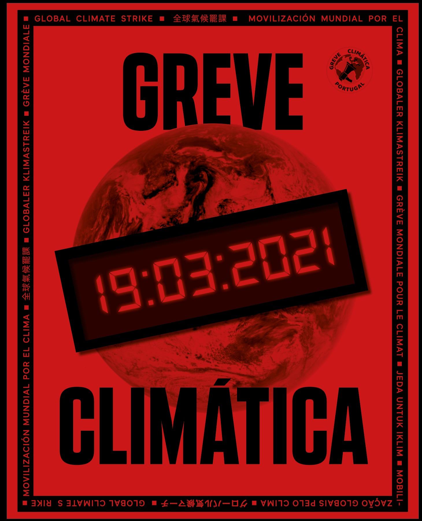 Greve Climática Estudantil avisa: só temos 7 anos para salvar o planeta