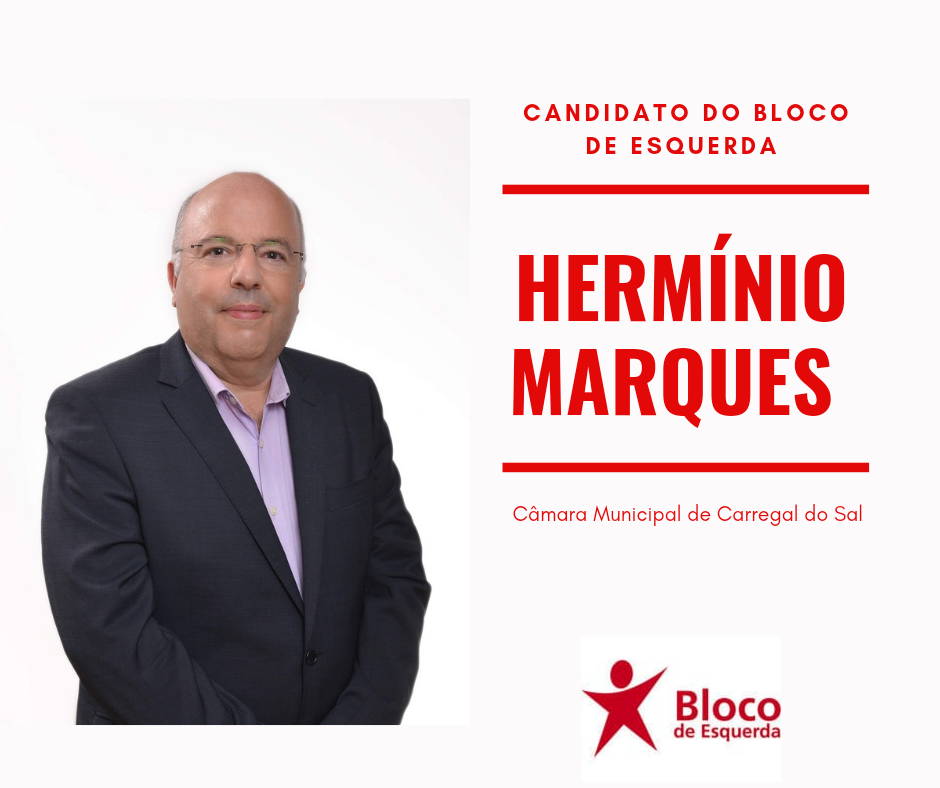 Hermínio Marques é o candidato do Bloco de Esquerda à Câmara Municipal de Carregal do Sal
