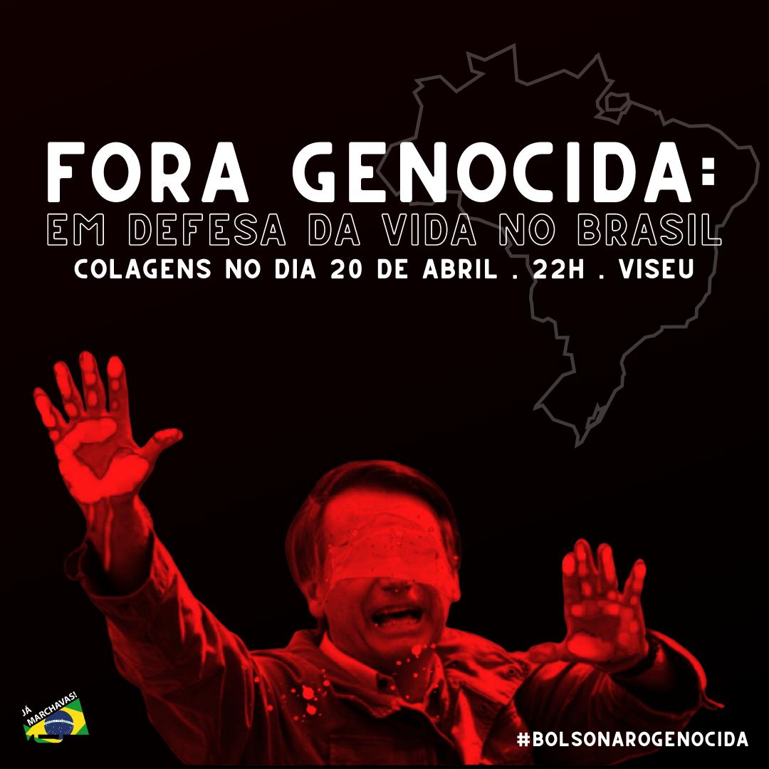 #ForaGenocida – Em defesa da vida no Brasil