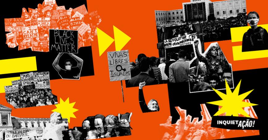 Estudantes lançam Manifesto Inquiet'ação