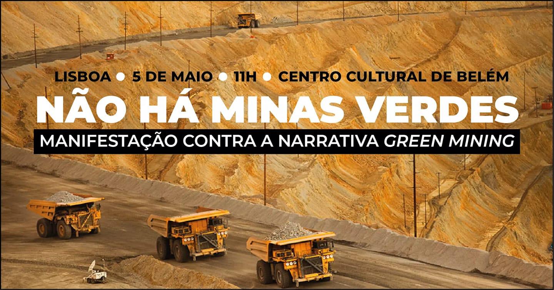 Associações e movimentos contra os projetos extrativos lançam manifesto de repúdio à narrativa Green Mining