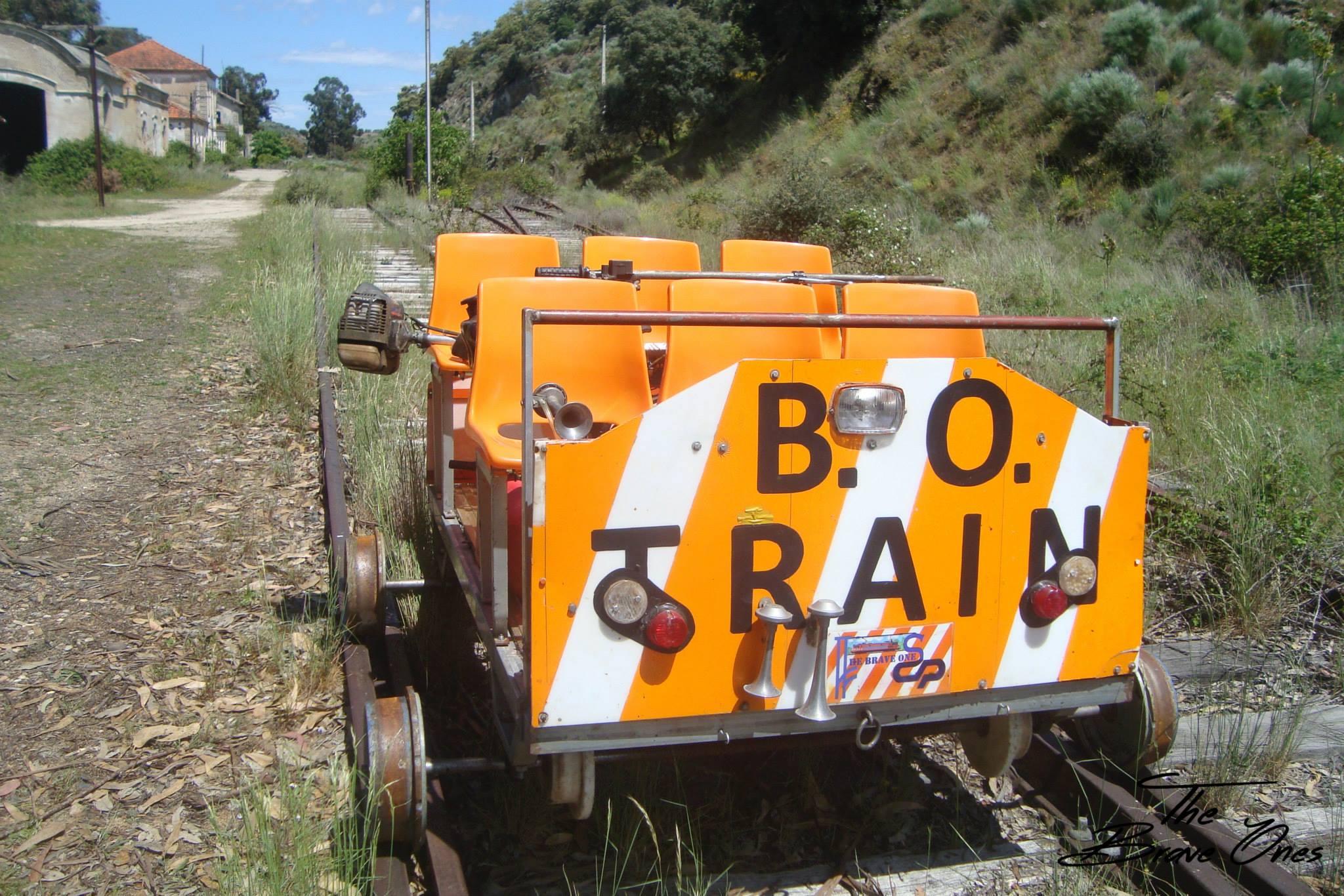 Voluntários mantém linha ferroviária entre o Pocinho e o Côa por amor aos comboios
