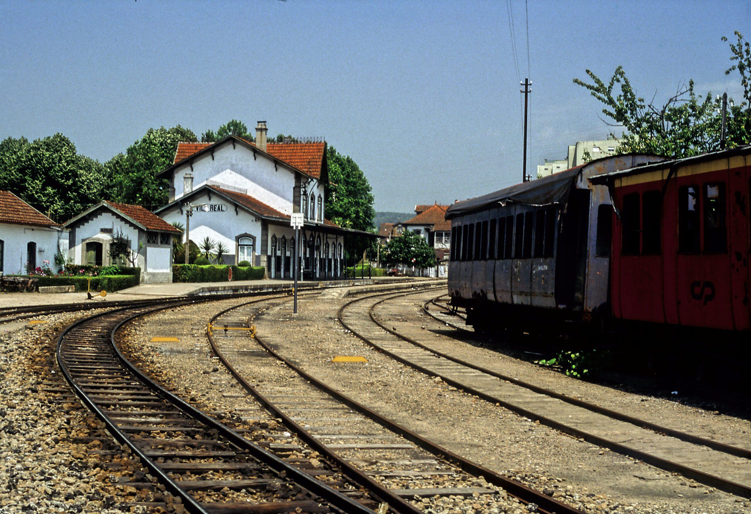 Comboio em Vila Real: e o burro sou eu?!