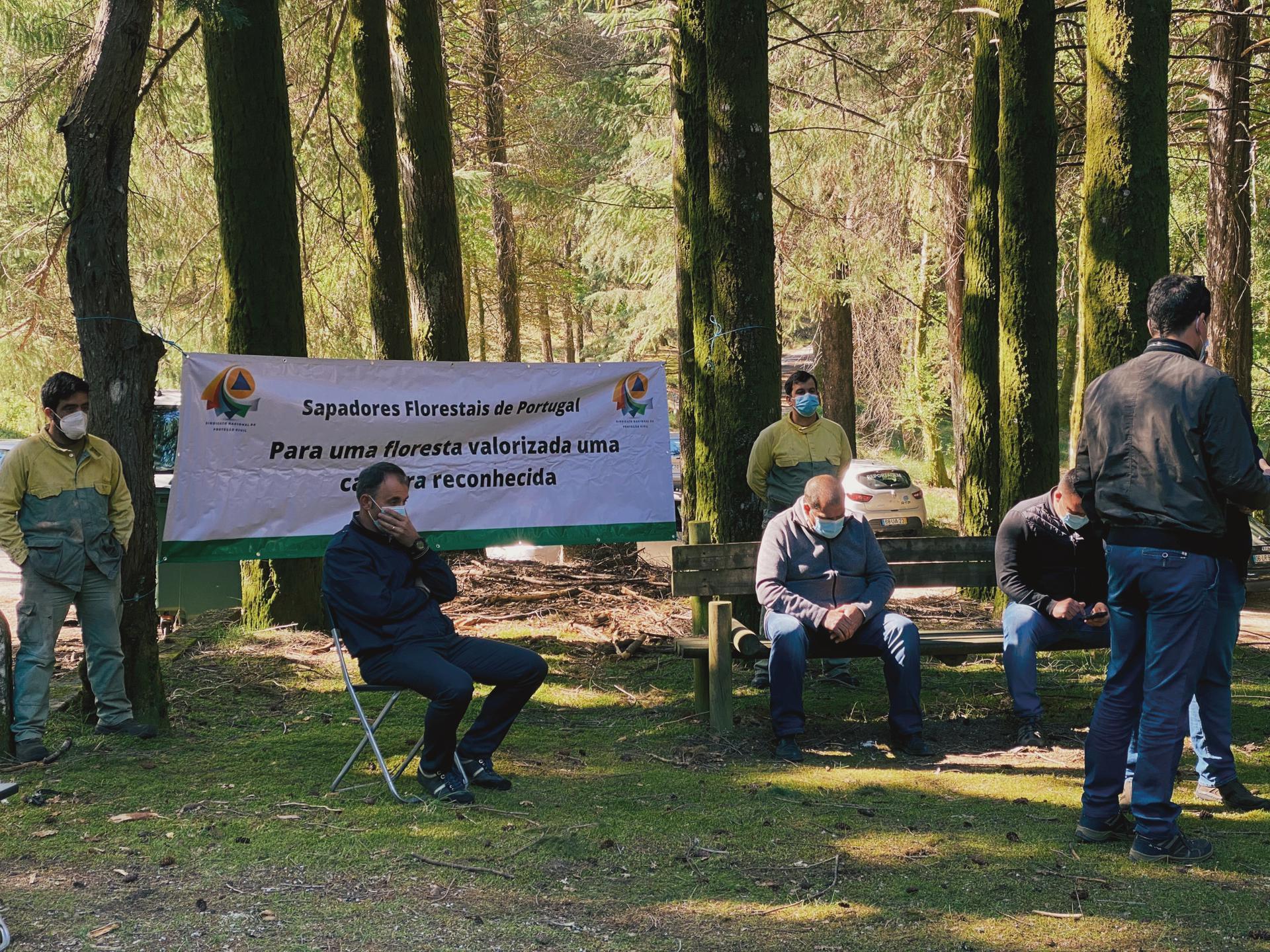 SNPC saúda trabalhadores e trabalhadoras que aderiram à greve nacional dos Sapadores Florestais