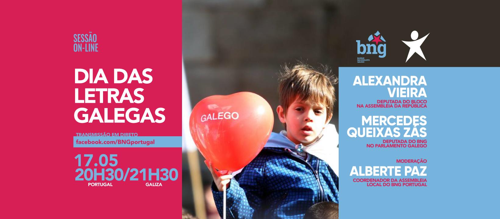 Bloco e BNG vão falar sobre o Dia das Letras Galegas