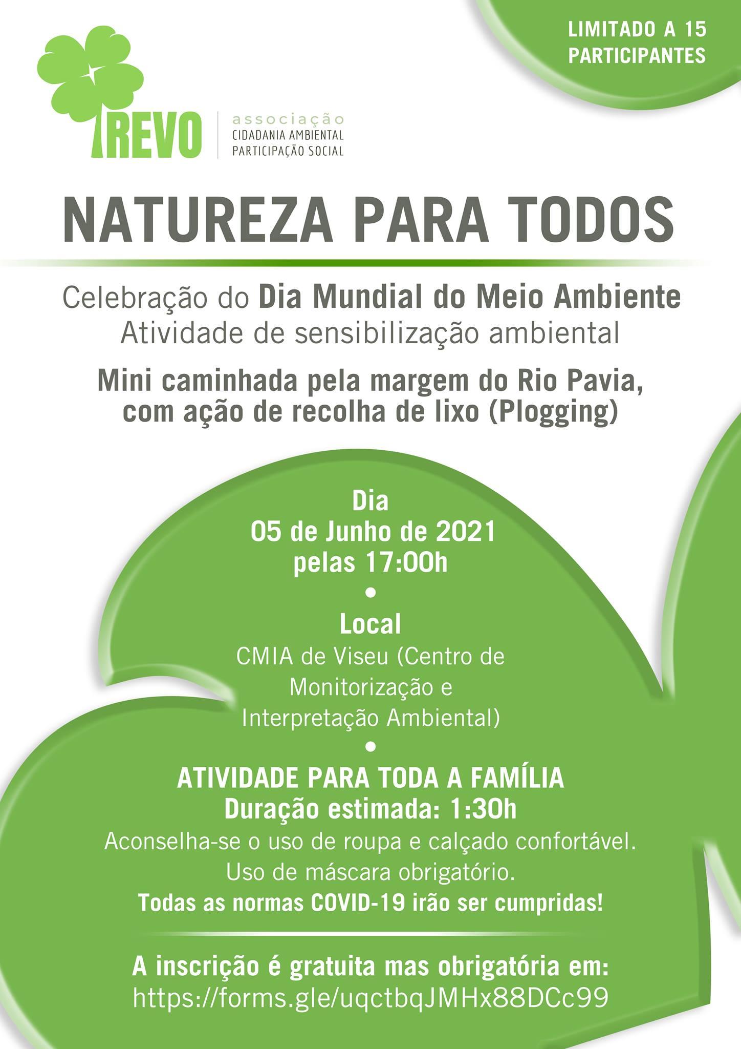 Associação Trevo comemora o Dia Mundial do Meio Ambiente com recolha de lixo no Rio Pavia