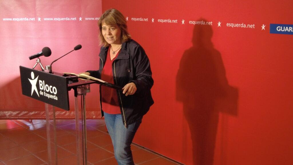 Catarina Martins na Guarda