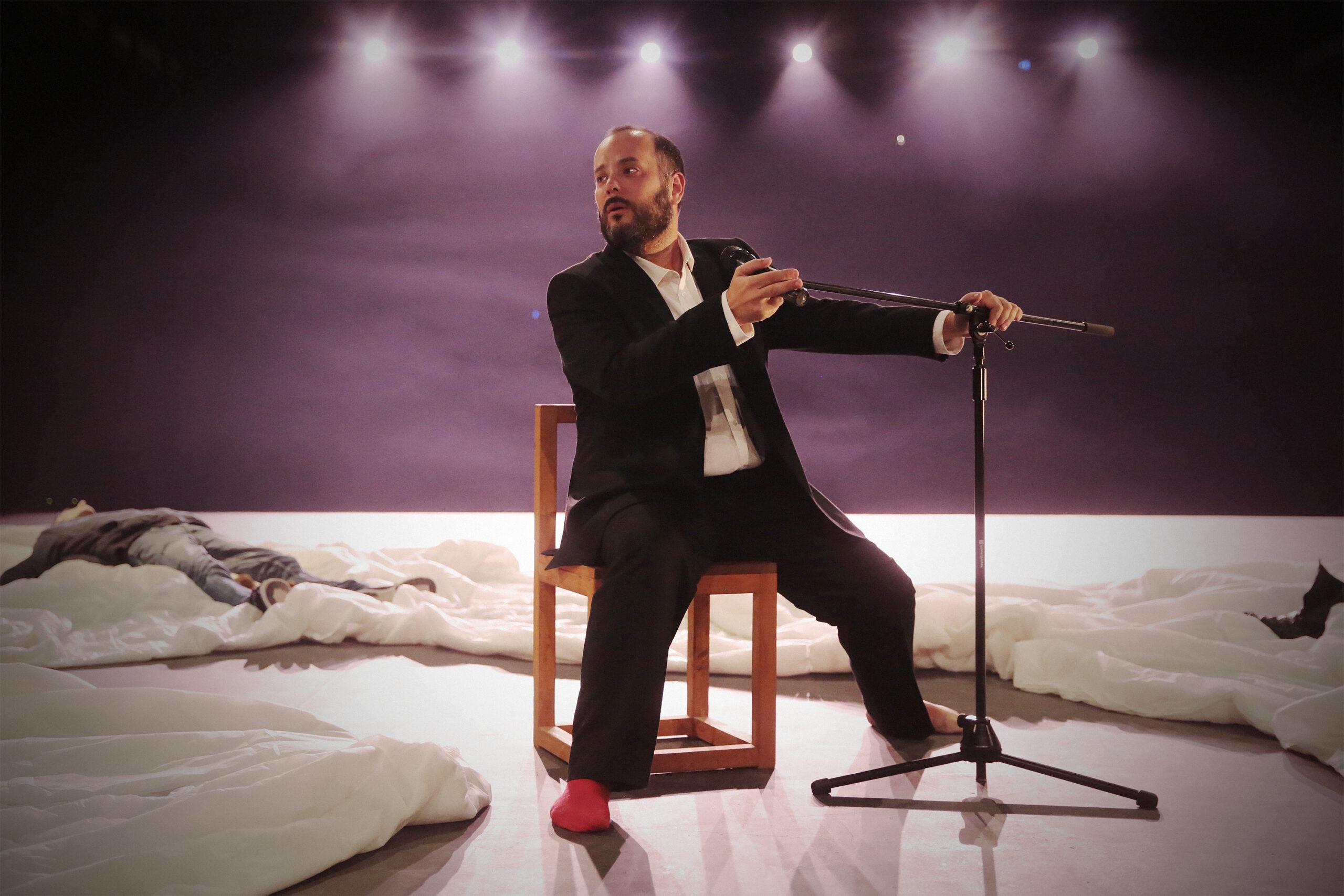 """Quarta Parede apresenta o espetáculo """"Morrer no Teatro"""" em Castelo Branco"""